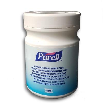 Purell Fazzoletti Disinfettanti Antibatterio per Pelle-270 pz