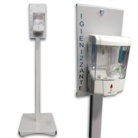 Automatic Sanitizing Dispenser Tower