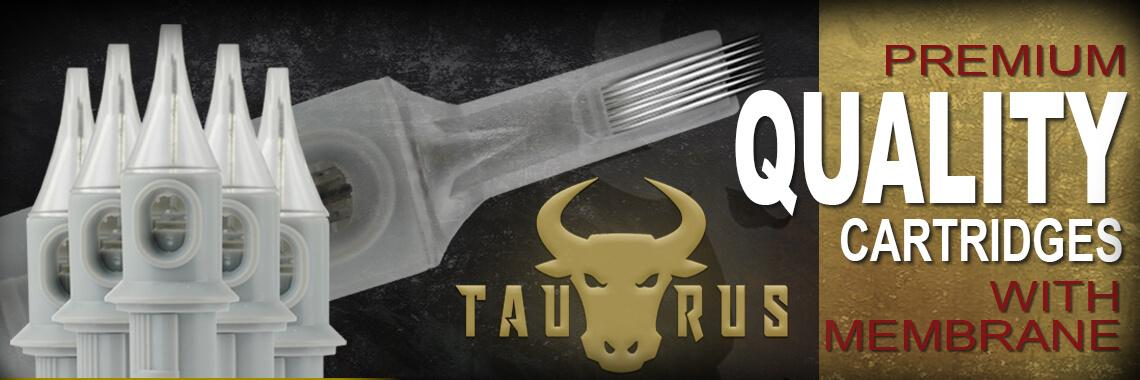 taurus tattoo cartridges