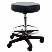 Adjustable gas Stool with feet rest