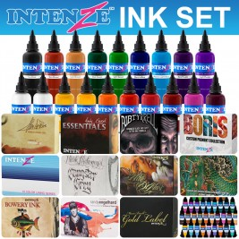 Intenze Tattoo Ink Set