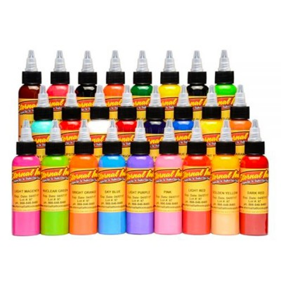Eternal Top 25 Colors Tattoo Ink Set 1oz/30ml
