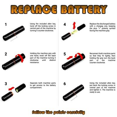 Equaliser Wireless  Pen Stick Rotary Tattoo Machine