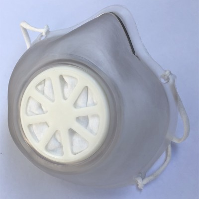 Mask PVC with replaceable filter