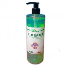 X-Germs Hand Sanitizing Gel with Green Aloe