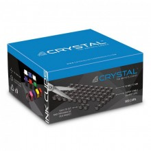 Crystal - Black Ink Cup Sheets - Fogli Tappini Porta Colore-500 Cups