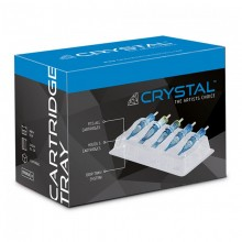 Crystal Cartridge Trays - Vaschetta Porta Cartucce-Box of 50