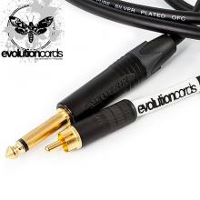 Evolutioncords Straight Rca Cable