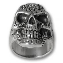 Silver ring 925 - Skull 01