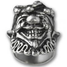 Anello In Argento Biker - Skull 04