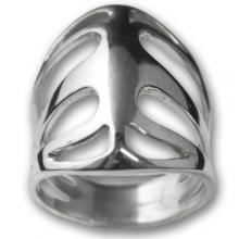 Silver Ring - Rib Cage