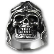 Anello In Argento Biker - Skull 05