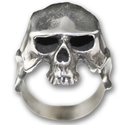Anello In Argento Biker - Skull 03