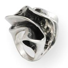 Sinusoid Silver Ring