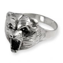Ring in Silver Bear