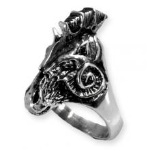Horse Silver Ring