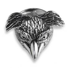 Silver Ring with Penguin Jumprock