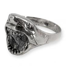 Silver Ring with Shark