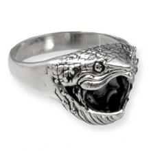Silver Ring with Turtle
