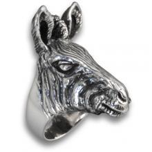 Silver ring Zebra