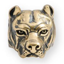 Ring In Bronze Biker - Dog