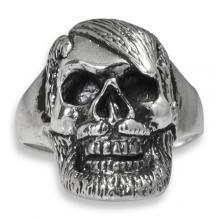 Silver Ring - Skull Beard