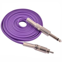 Cable RCA Silicon - PURPLE