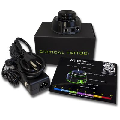 Critical Atom Alimentatore Tattoo Black