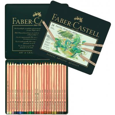 Faber Castell Set 24 Pastel Pencils Pitt