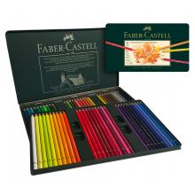 Faber Castell Set 60 Colour Pencils Polychromos