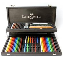 Faber Castell Compendium wooden suitcase for artists