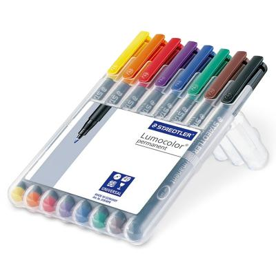 Staedtler Lumocolor Permanent kit 8 M