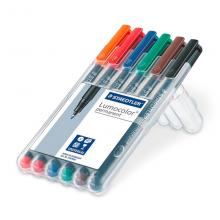 Staedtler Lumocolor Permanent kit 6 M