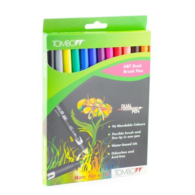 Tombow Pennarello Dual Brush Kit 12