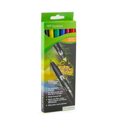 Tombow Pennarello Dual Brush Kit 6