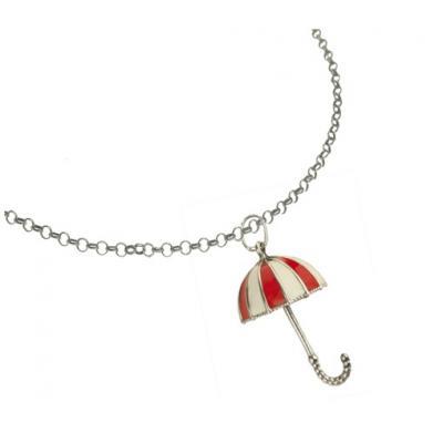 El Rana Silver Big Pendant Umbrella 3D RW