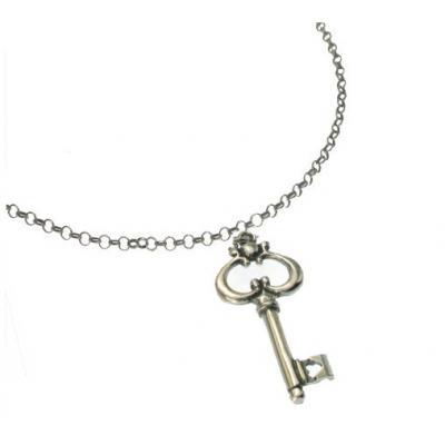 El Rana Silver Big Pendant Key 2