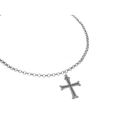 El Rana Silver Pendant Small Cross