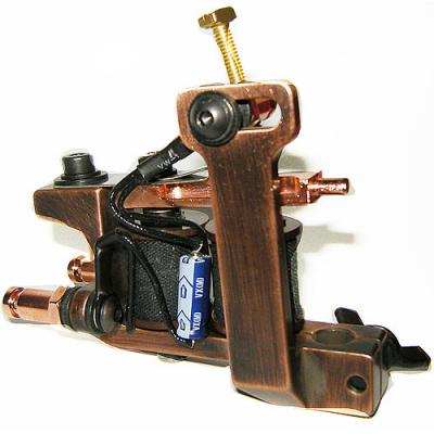 HM Coil Tattoo Machine - Mini Dietzel Copper Liner