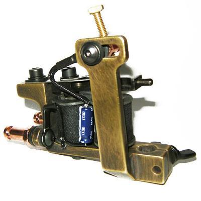 HM Coil Tattoo Machine - Mini Dietzel Brass Liner