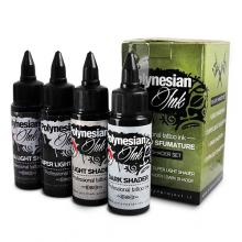 Polynesian Ink Professional Black Shader Set