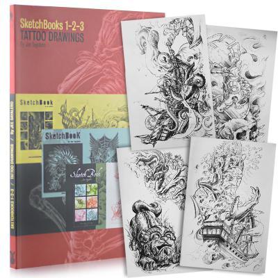 Sketchbook 1-2-3 Tattoo Drawings by Jee Sayalero