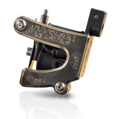 Nuvolari Old Brass Tattoo Machine by Lauro Paolini, Liner