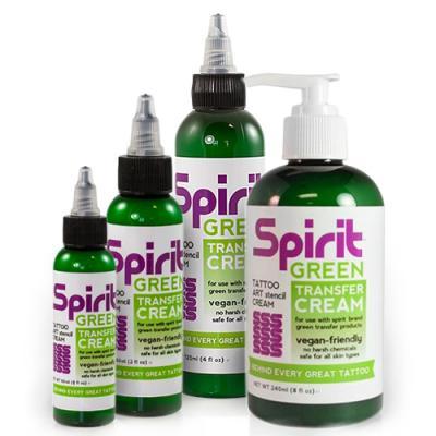 Spirit Green Transfer Cream