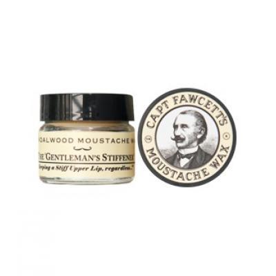 Captain Fawcett Moustache Wax Sandalwood