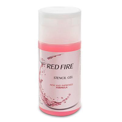 Red Fire - Stencil Gel