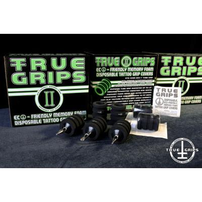 True Grips 2 Copri Grip Monouso Rigati