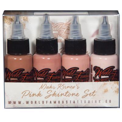 Maks Kornevs Pink Skintone Set WORLD FAMOUS INK
