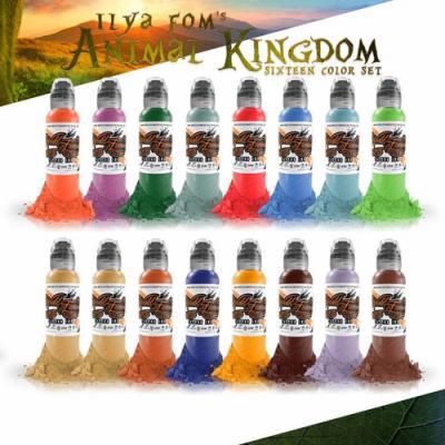 Ilya Foam Animal Kingdom Wolrd Famous Ink Set