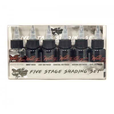 Five Stage Shading Set WORLD FAMOUS INK